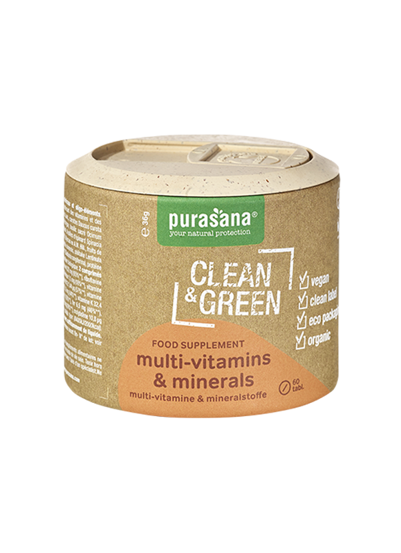 Clean & Green multivitamins & minerals